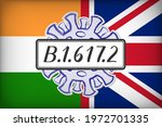 variant of concern b.1.617.2 ... | Shutterstock .eps vector #1972701335