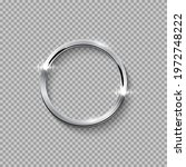 silver round frame for picture... | Shutterstock .eps vector #1972748222