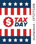 national tax day in the united... | Shutterstock .eps vector #1972771208