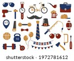 set of elements for the holiday ... | Shutterstock .eps vector #1972781612