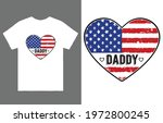 daddy t shirt design vector ... | Shutterstock .eps vector #1972800245