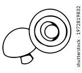 Clip Art Shiitake Mushrooms...