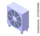 commercial ventilation icon.... | Shutterstock .eps vector #1972833488