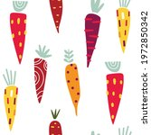 seamless pattern with hand... | Shutterstock .eps vector #1972850342