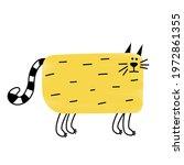 cool rectangular abstract thick ...   Shutterstock . vector #1972861355