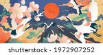 luxury gold oriental style... | Shutterstock .eps vector #1972907252