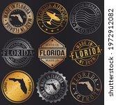 florida  usa business metal... | Shutterstock .eps vector #1972912082
