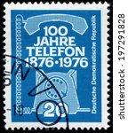 germany   circa 1976  stamp...   Shutterstock . vector #197291828