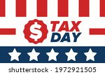 national tax day in the united... | Shutterstock .eps vector #1972921505