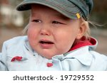 baby boy crying on the street | Shutterstock . vector #19729552