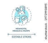 meningitis  measles and mumps...   Shutterstock .eps vector #1972993895