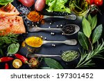 delicious  portion of fresh... | Shutterstock . vector #197301452