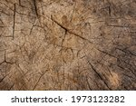 Wood Texture With Cracks And...