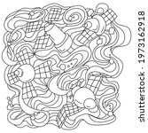 Coloring Page On Space Theme ...