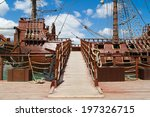 Entrance Of Pirate Ship In Par...