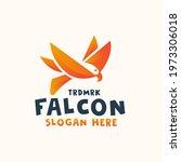 Abstract Falcon Logo Design...