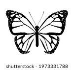 abstract monarch butterfly  ... | Shutterstock . vector #1973331788