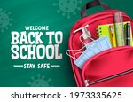 back to school campaign vector... | Shutterstock .eps vector #1973335625