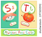 vector educational alphabet...   Shutterstock .eps vector #197335592