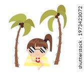 cute cartoon teen girl in...   Shutterstock .eps vector #1973423072