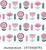 cute floral pattern in the...   Shutterstock .eps vector #1973468792