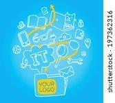 information technologies... | Shutterstock .eps vector #197362316