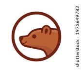 cartoon bear head  cute... | Shutterstock .eps vector #1973649782