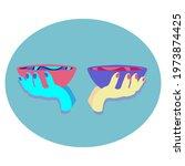 vector illustration of libra... | Shutterstock .eps vector #1973874425