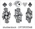 poker elements vintage... | Shutterstock .eps vector #1973935568