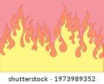 Fire Flat Design Vector...