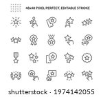 simple set of star related... | Shutterstock .eps vector #1974142055