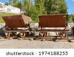 Old Small Railroad Freight Cars ...