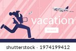 people is going to travel in... | Shutterstock .eps vector #1974199412