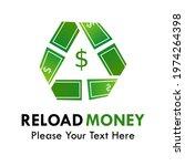 reload money logo template... | Shutterstock .eps vector #1974264398