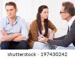 relationship troubles.... | Shutterstock . vector #197430242
