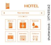 web site template. hotel web...