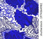 abstract unusual decorative... | Shutterstock .eps vector #1974364982
