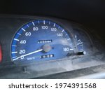 Old Car Instrument Panel...
