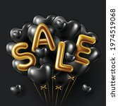 black friday sale background...   Shutterstock .eps vector #1974519068