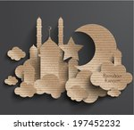 3d,abstract,aidilfitri,allah,asia,backdrop,background,believe,brown,cardboard,celebration,celebratory,cloud,creative,crescent