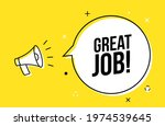 great job promotion work... | Shutterstock .eps vector #1974539645