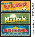 new brunswick  manitoba and... | Shutterstock .eps vector #1974586808