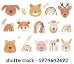 Woodland Clipart With Baby...