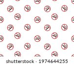 abstract. no smoking sign...   Shutterstock .eps vector #1974644255