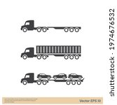 truck icon sign simple design... | Shutterstock .eps vector #1974676532
