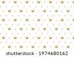 premium crown pattern texture... | Shutterstock .eps vector #1974680162