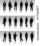 business people   Shutterstock .eps vector #19746997