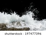 Water Wave Splashes  Isolated...