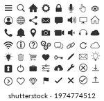 web application interface icon...