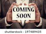 coming soon | Shutterstock . vector #197489435